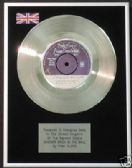 "PINK FLOYD  7"" Platinum Disc ANOTHER BRICK IN THE WALL"